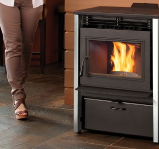 Home stove fireplace