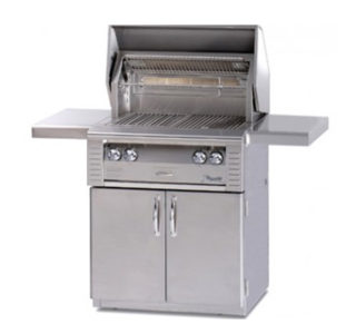 Home grill isolated on white