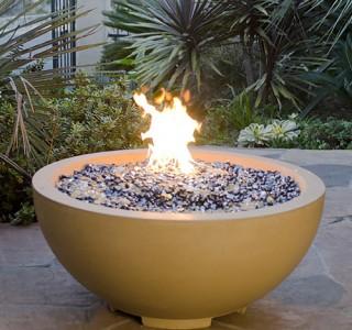 firebowl firepit feature