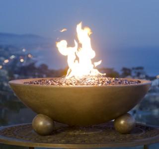 Elegant outdoor firepit