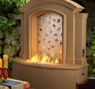 Artisan Large Firewall for backyard