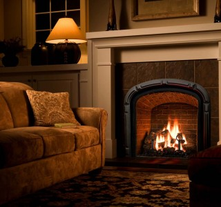 Greenbriar Traditional Room fireplace
