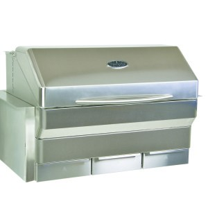 Memphis Elite brand grill with shield