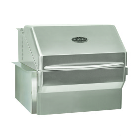 Pro- grill with built in shield