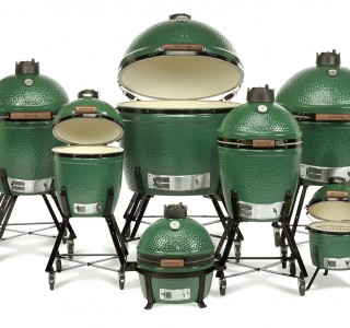 Green egg grills different sizes