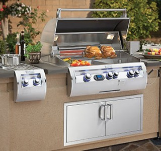 Grilling station & island