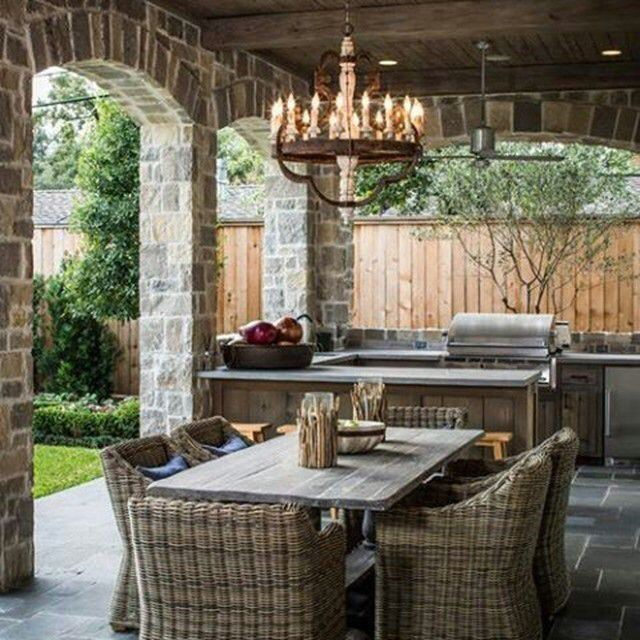 patio grilling and entertaining