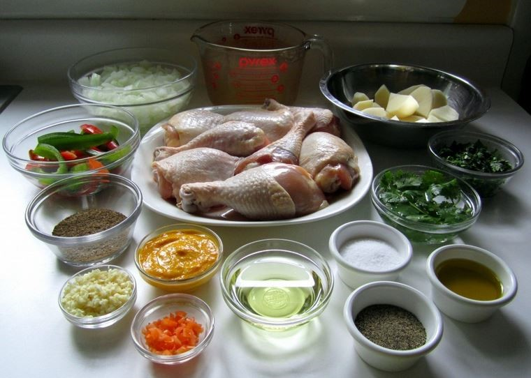 cooking mise en place