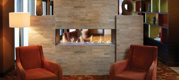 modern fireplace wall