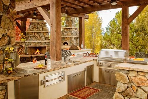 Italian outdoor kitchen design