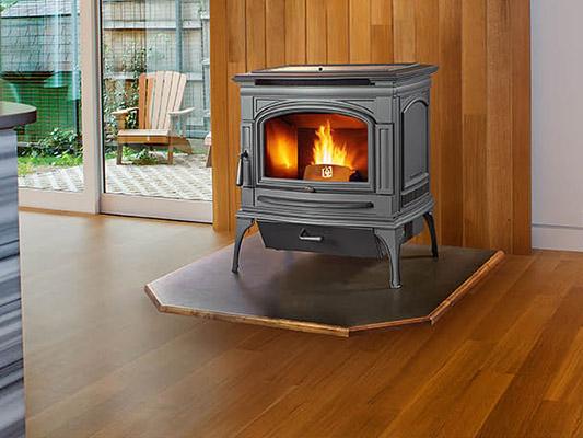 deerfield pellet stove