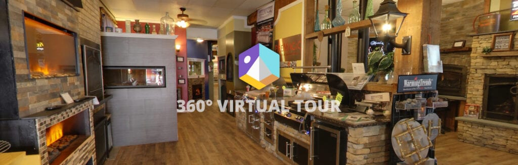 screenshot of virtual tour by Google